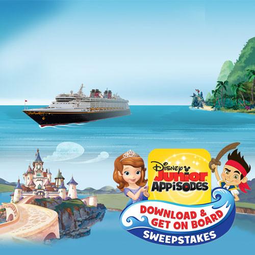 Win a 7-Night Disney Magic Cruise from Disney Junior's Appisodes