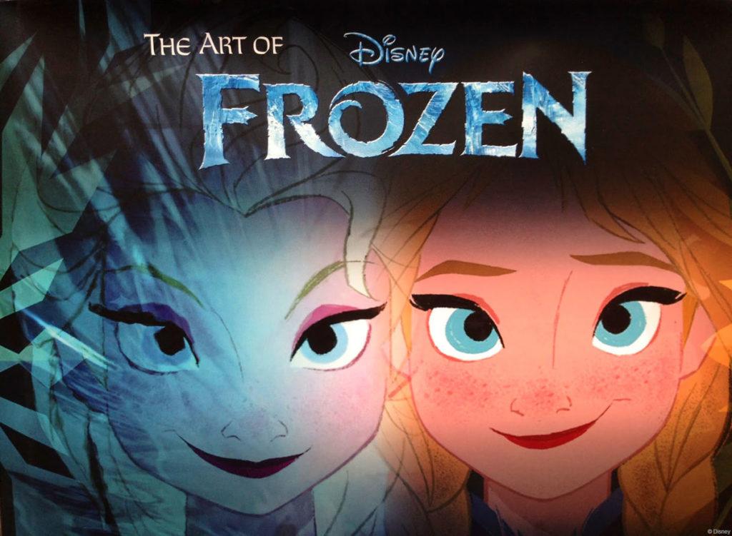 Disney The Art Of Frozen Book Cover