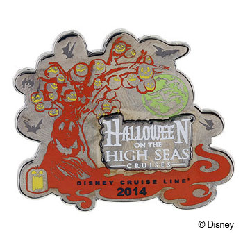 DCL Pin DCL Halloween October 2014