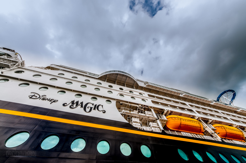 Looking Up At The Disney Magic