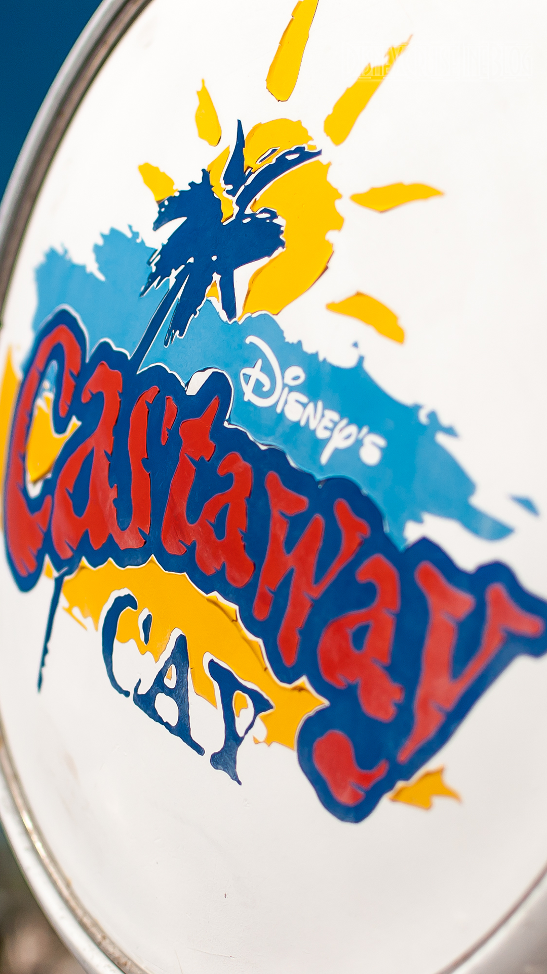 Castaway Cay Gas Pump iPhone 6 Plus Wallpaper