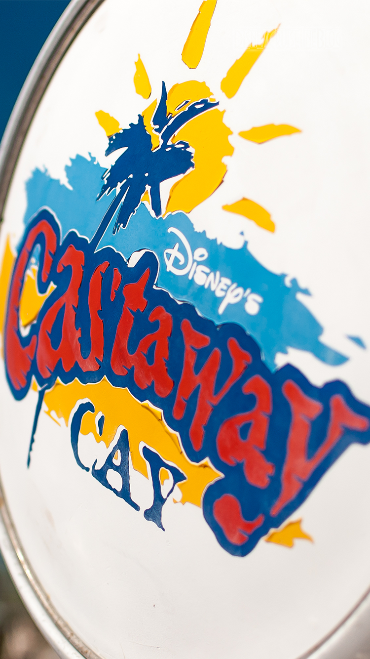 Castaway Cay Gas Pump iPhone 6 Wallpaper
