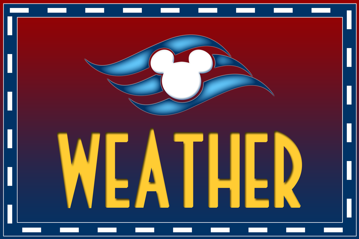 Extended Weather Forecast The Disney Cruise Line Blog