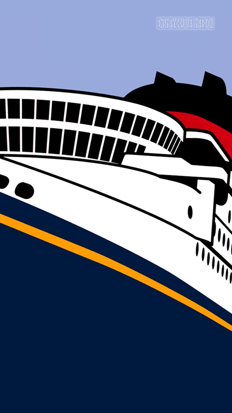 Disney Cruise Line Ship iPhone 6 Wallpaper