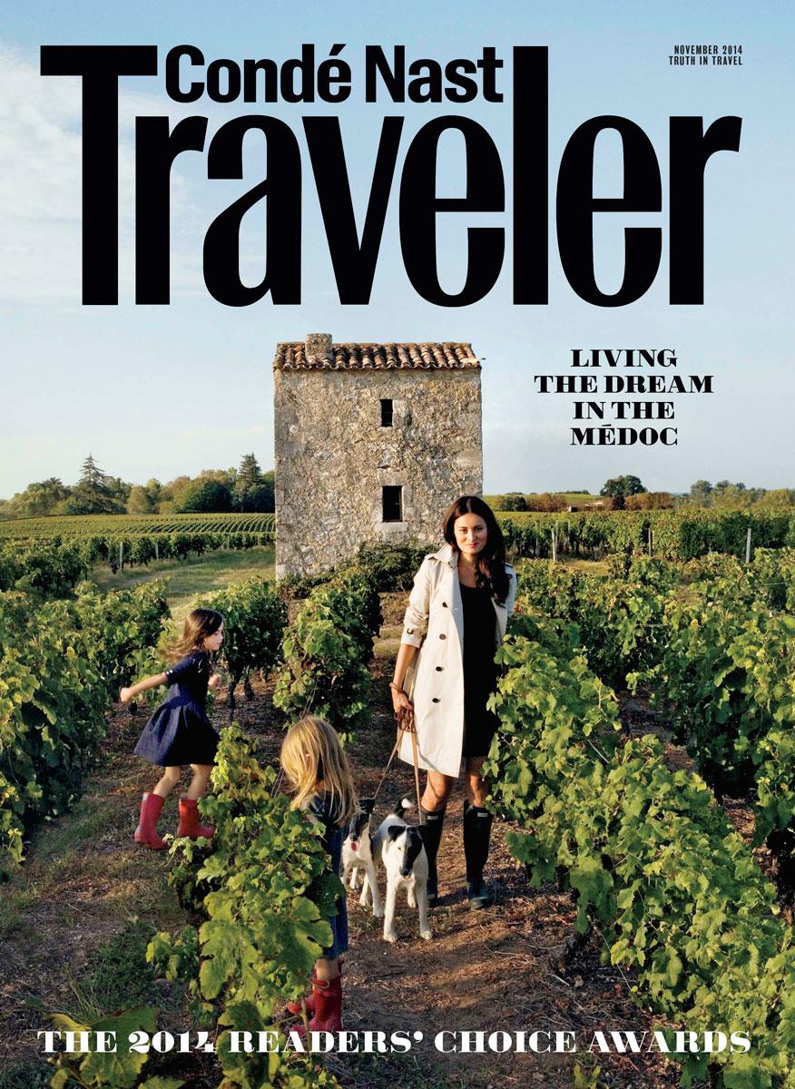 Conde Nast Traveler November 2014 Readers Choice Magazine Cover