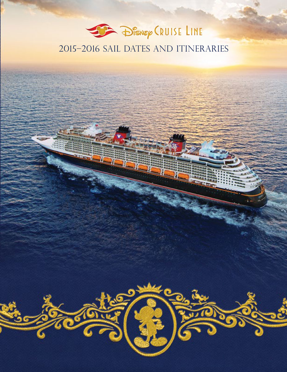 DCL Itinerary Brochure October 2014 2015 2016 Dates Cover