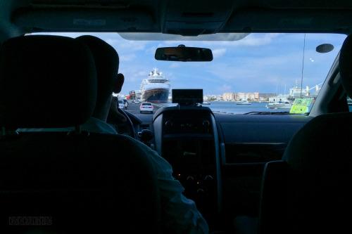 Disney Magic San Juan Taxi