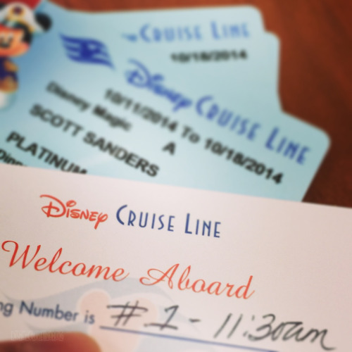 DCL KTTW Cards And Boarding Group Card