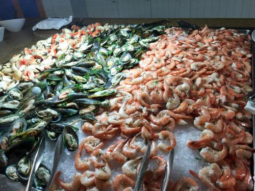 Cariocas Embarkation Seafood Buffet