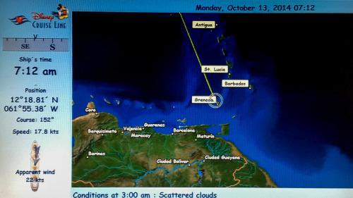 Day 3 Disney Magic Grenada 20141013