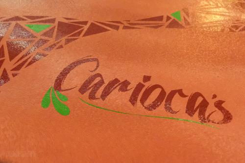 Carioca's Menu Cover