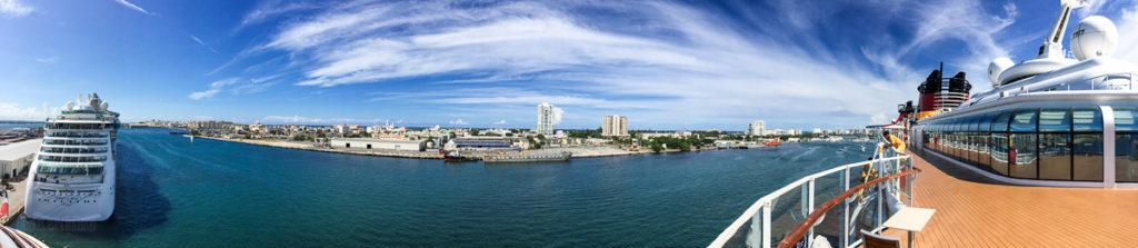 Disney Magic & Jewel Of The Seas In San Juan