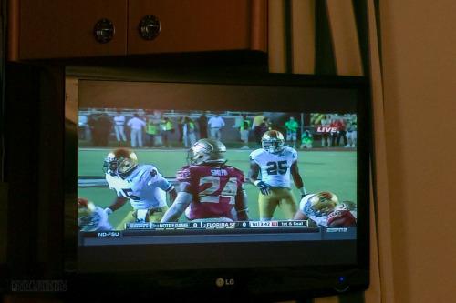 Stateroom TV Florida State Vs Notre Dame