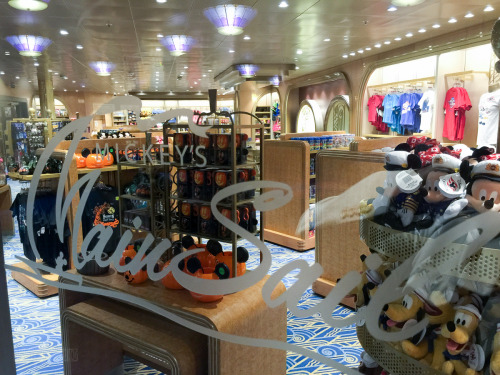 Halloween Merchandise Mickey's MainSail