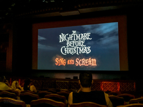 Nightmare Before Christmas Sing And Scream 4D Experience