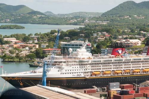 Disney Magic In St Lucia