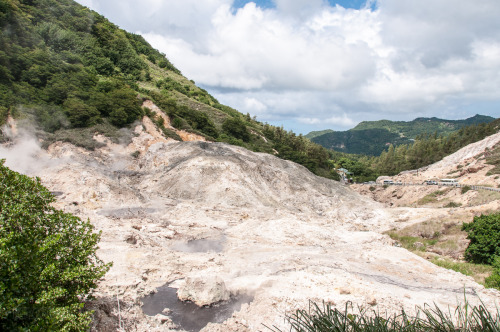 St Lucia's Sulfur Springs Volcano