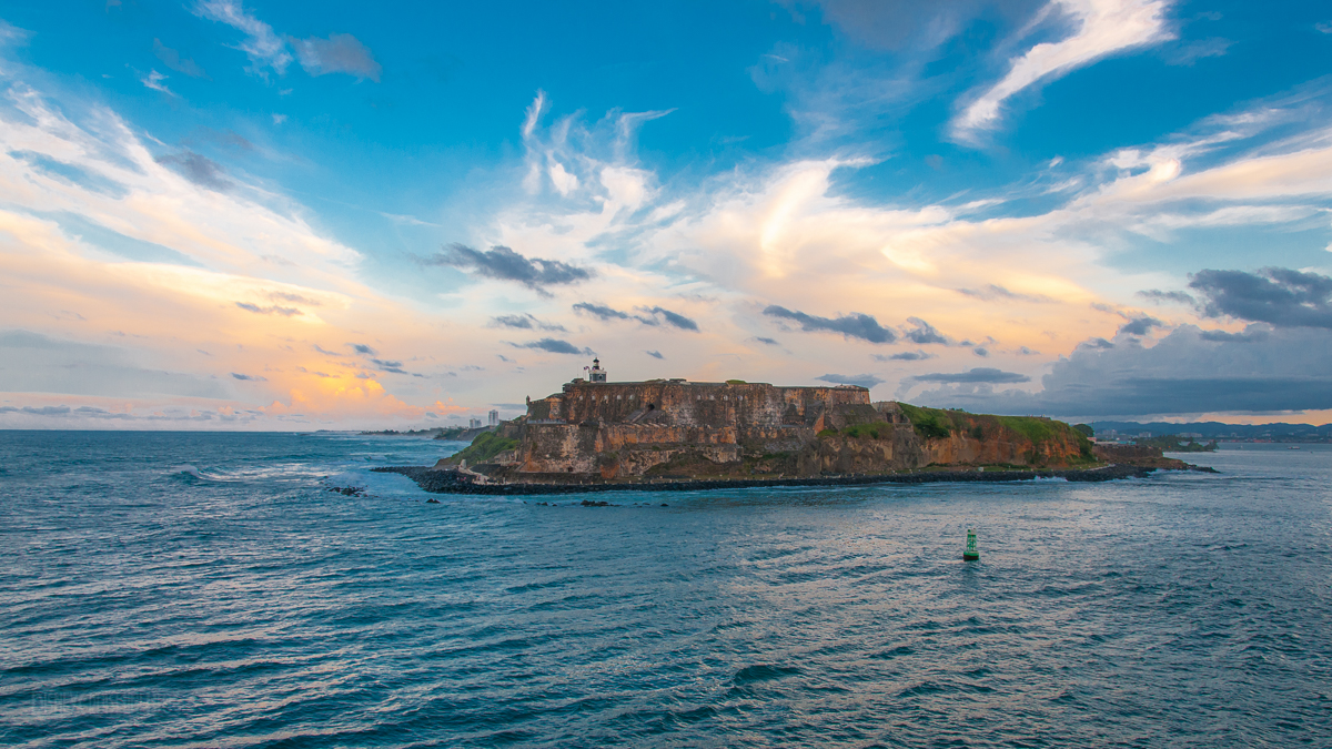 El Morro From The Disney Magic