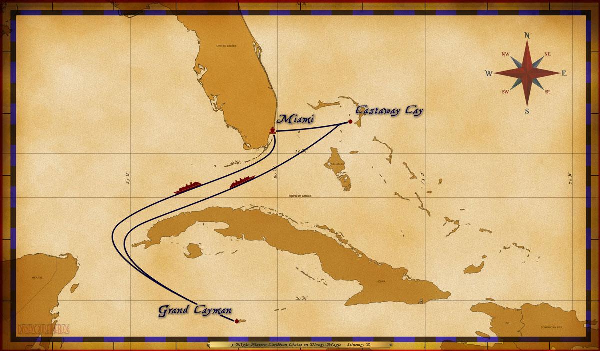 Disney Cruise Line Announces Winter 2018 Itineraries