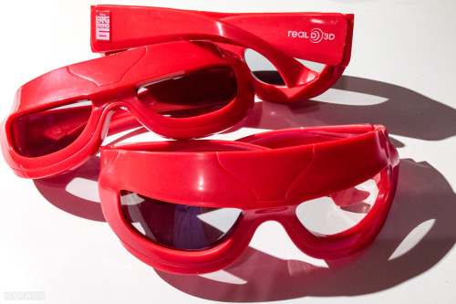Big Hero 6 Baymax Dolby Real D 3D Glasses