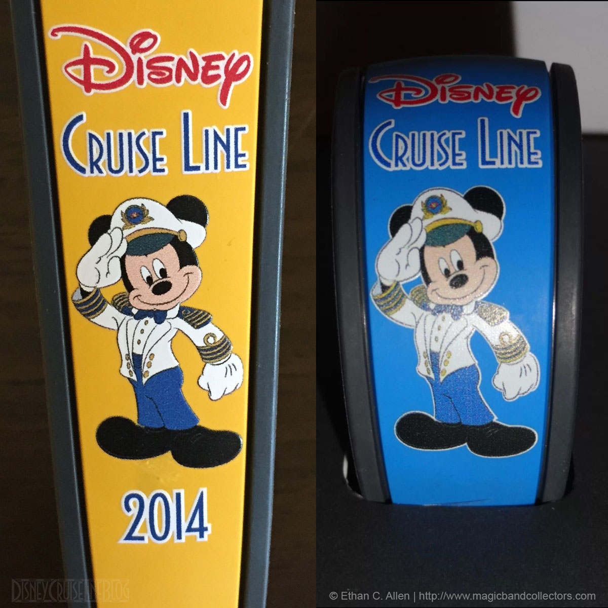 DCL 2014 MagicBand Blue Oceaneer Yellow