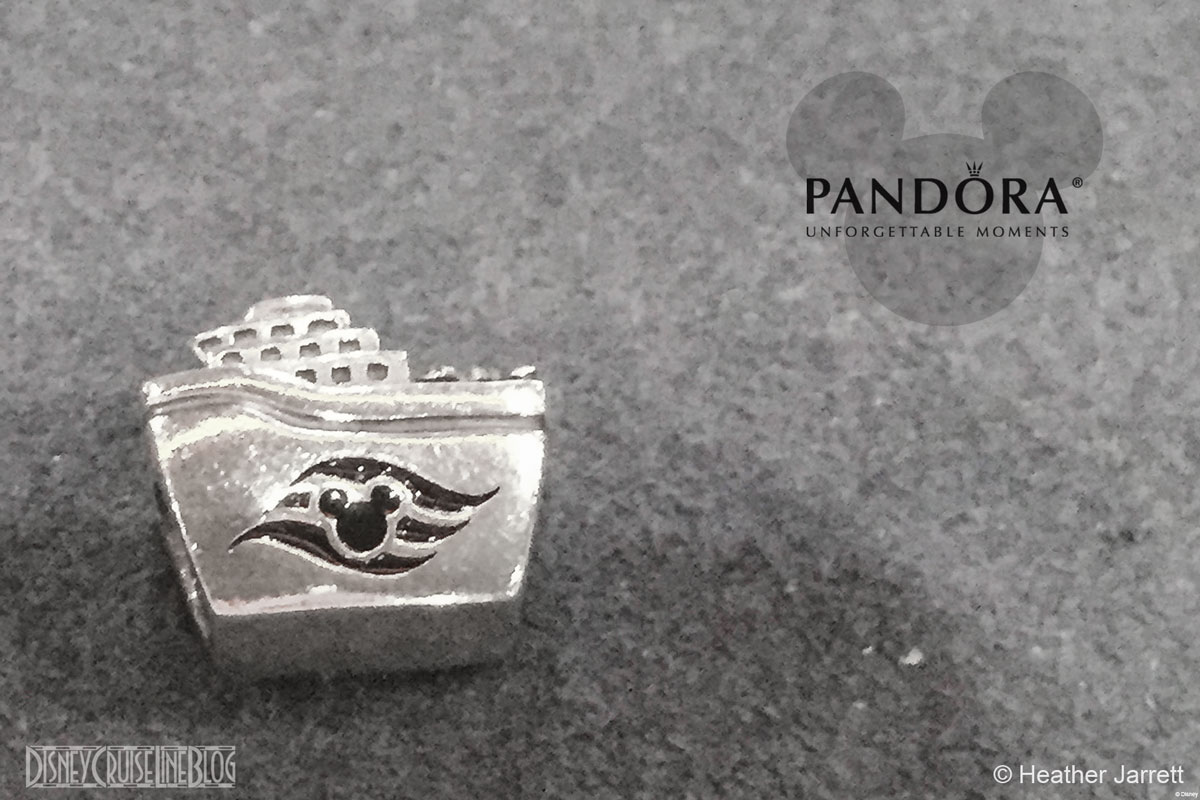 DCL Pandora Ship Charm 2014