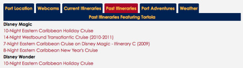 DCLBlog Itinerary Feature Port Tortola Itineraries Past