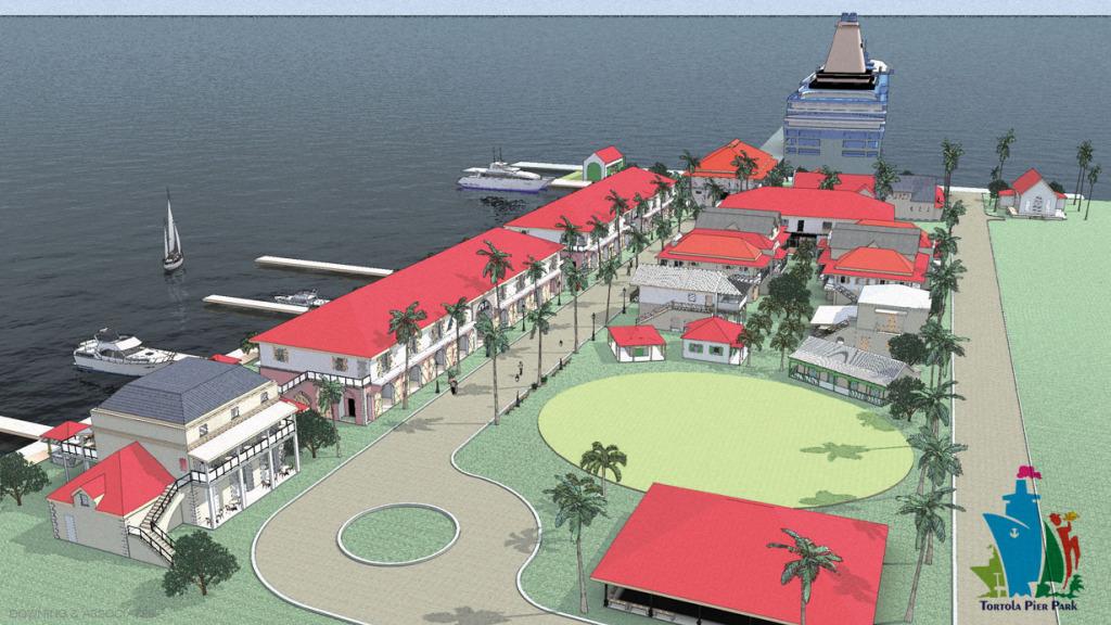 Tortola Pier Park Rendering Downing