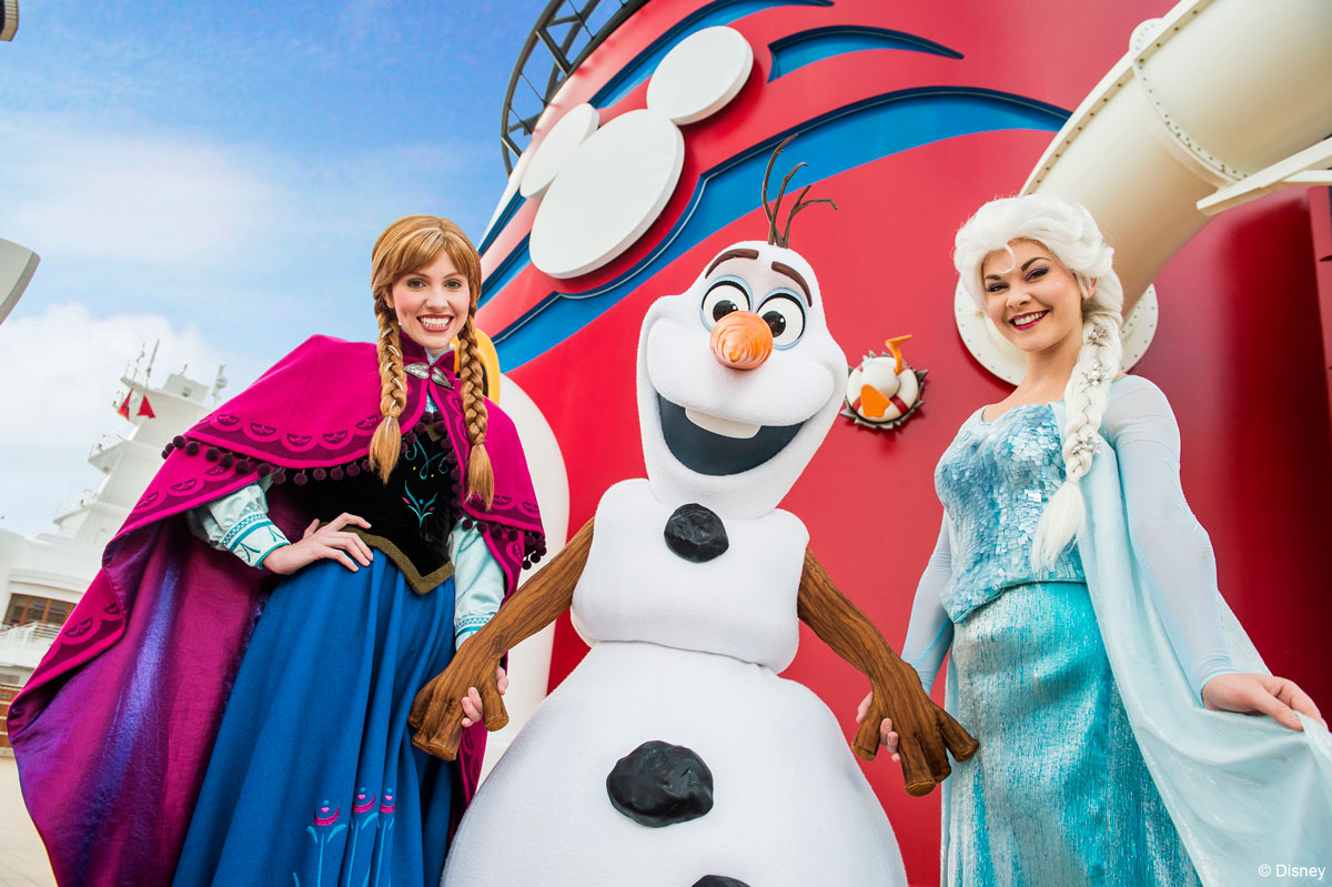 All new frozen experiences headed to sea castaway cay - Frozen anna and olaf ...
