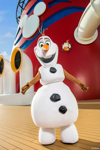 DCL Frozen Fun Olaf Funnel