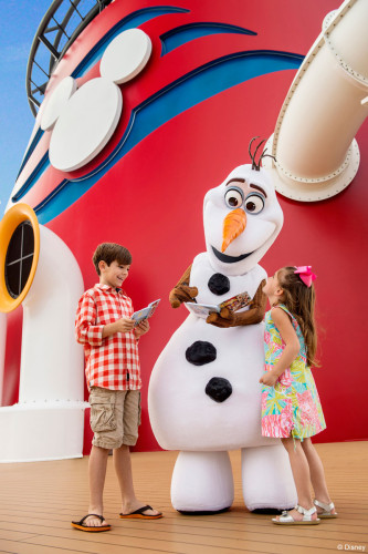 DCL Frozen Fun Olaf Meet Greet Funnel