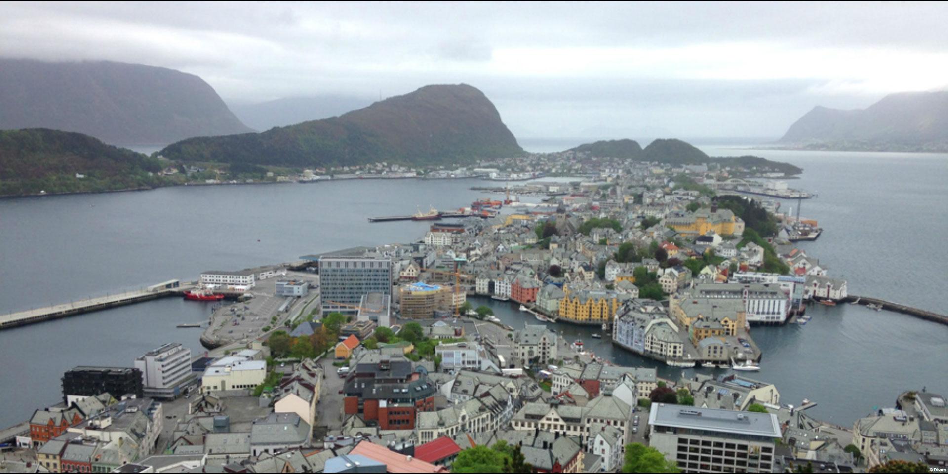 DCL Port Adventures Alesund Norway