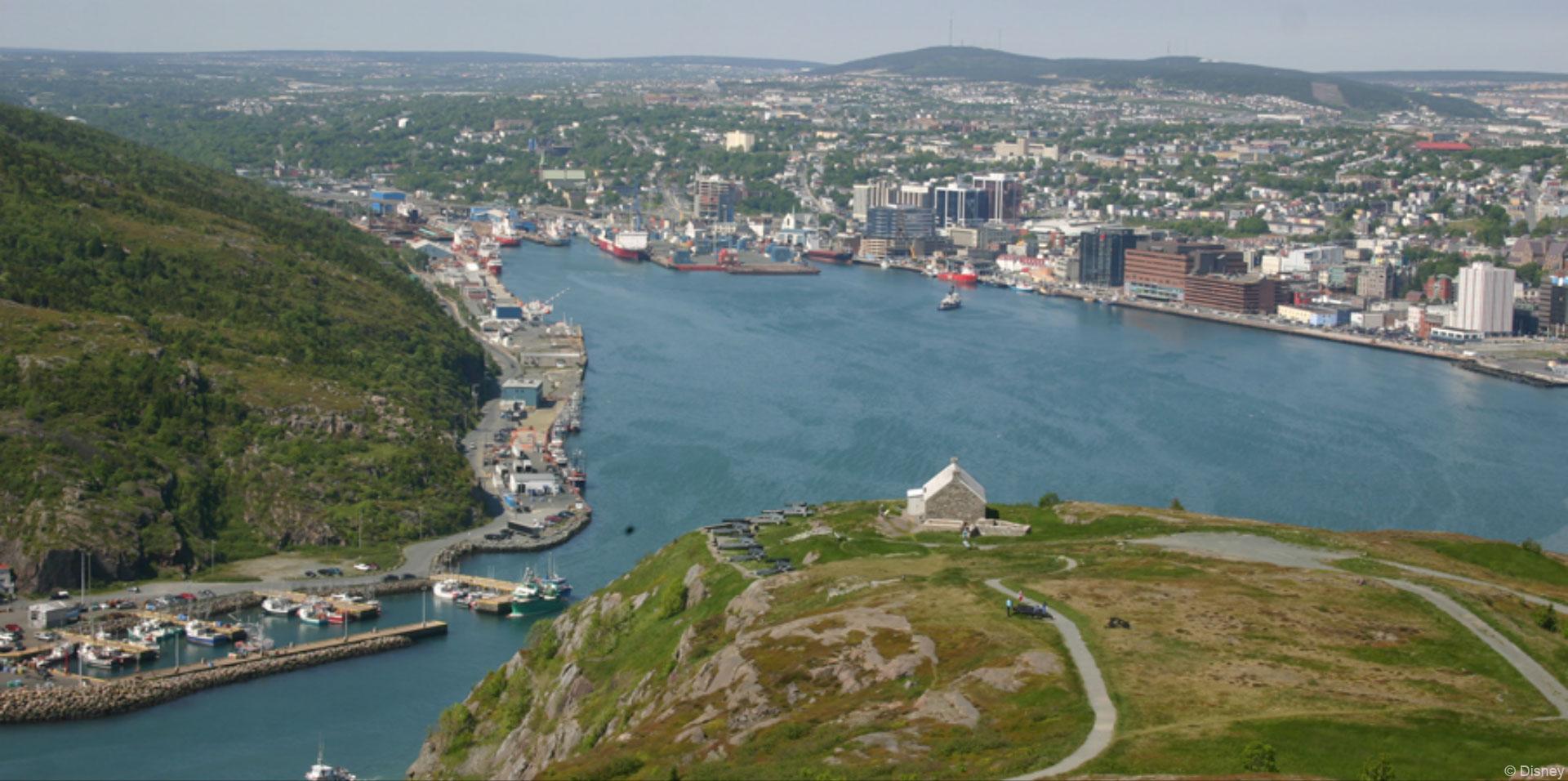 DCL St. John's Newfoundland Port Adventure