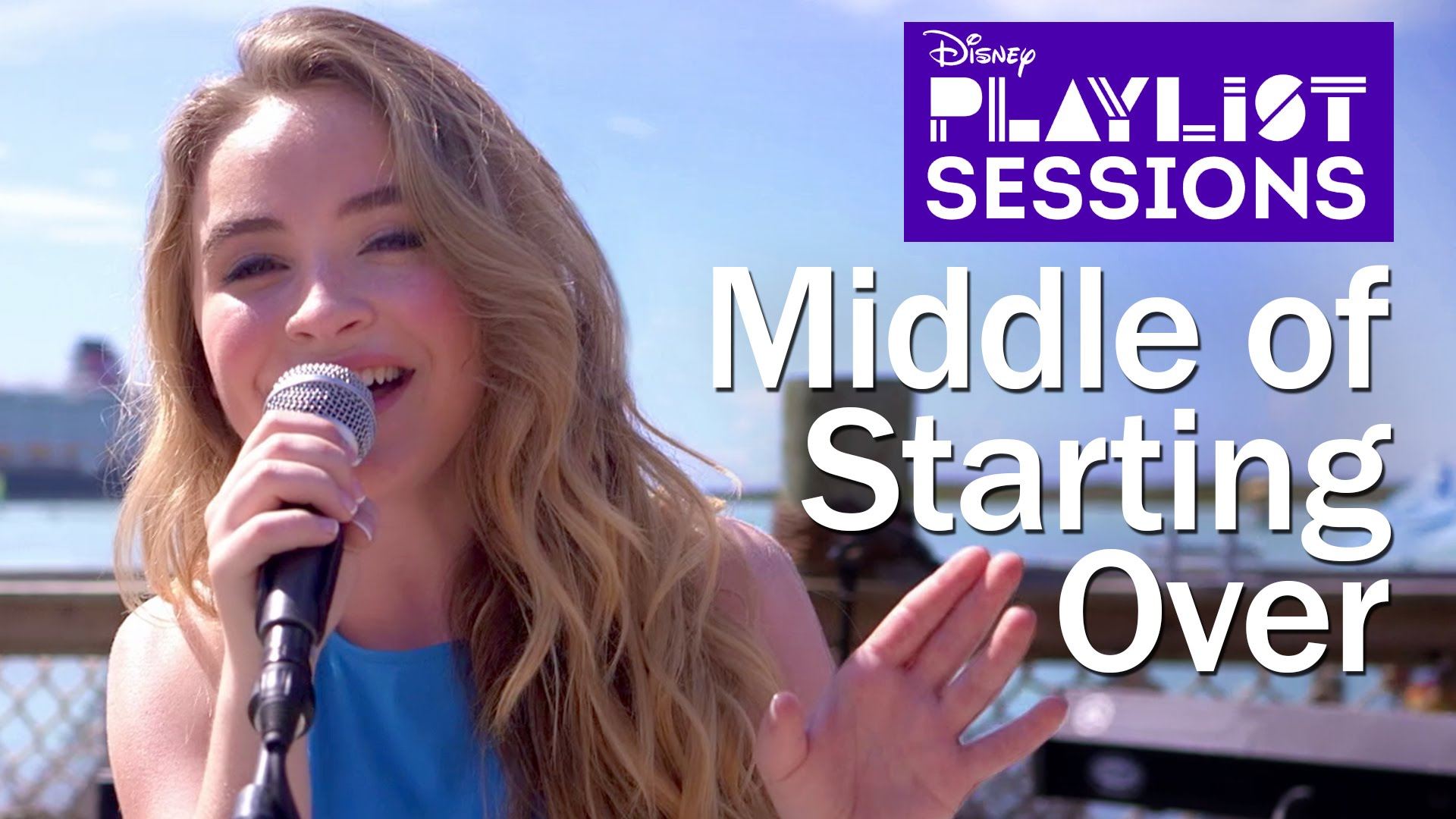 Sabrina Carpenter Middle Of Starting Over Music Video Castaway Cay
