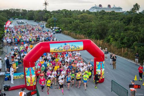 RunDisney Inaugural Castaway Cay Challenge Corrals