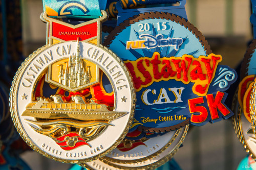 RunDisney Inaugural Castaway Cay Challenge Medals
