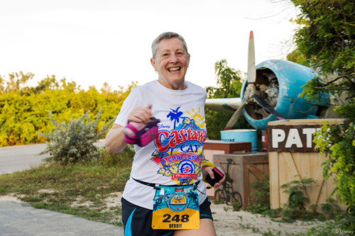 RunDisney Inaugural Castaway Cay Challenge Runner