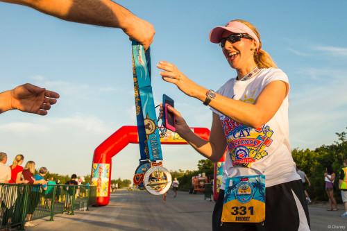 RunDisney Inaugural Castaway Cay Challenge Runner Bridget