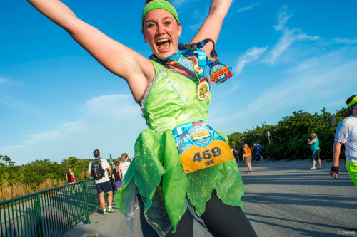 RunDisney Inaugural Castaway Cay Challenge Runner Erin