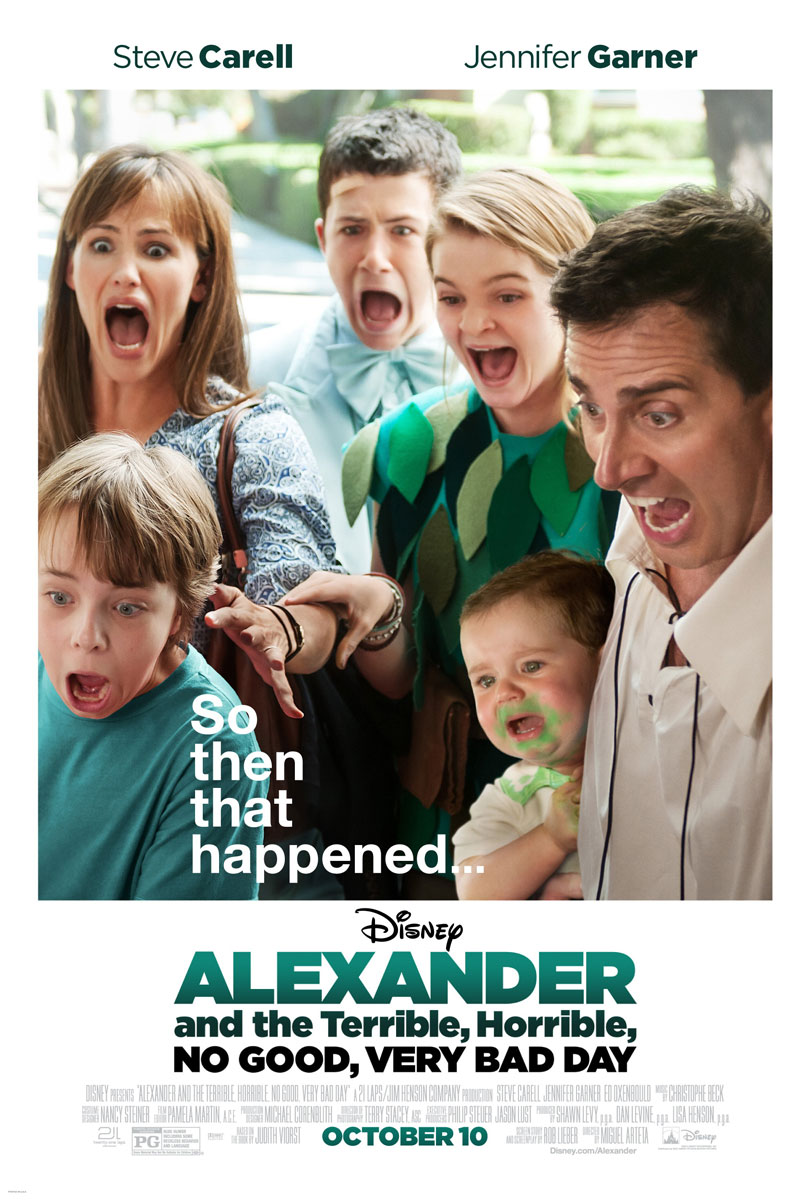 Alexander And The Terrible, No Good, Very Bad Day Movie Poster