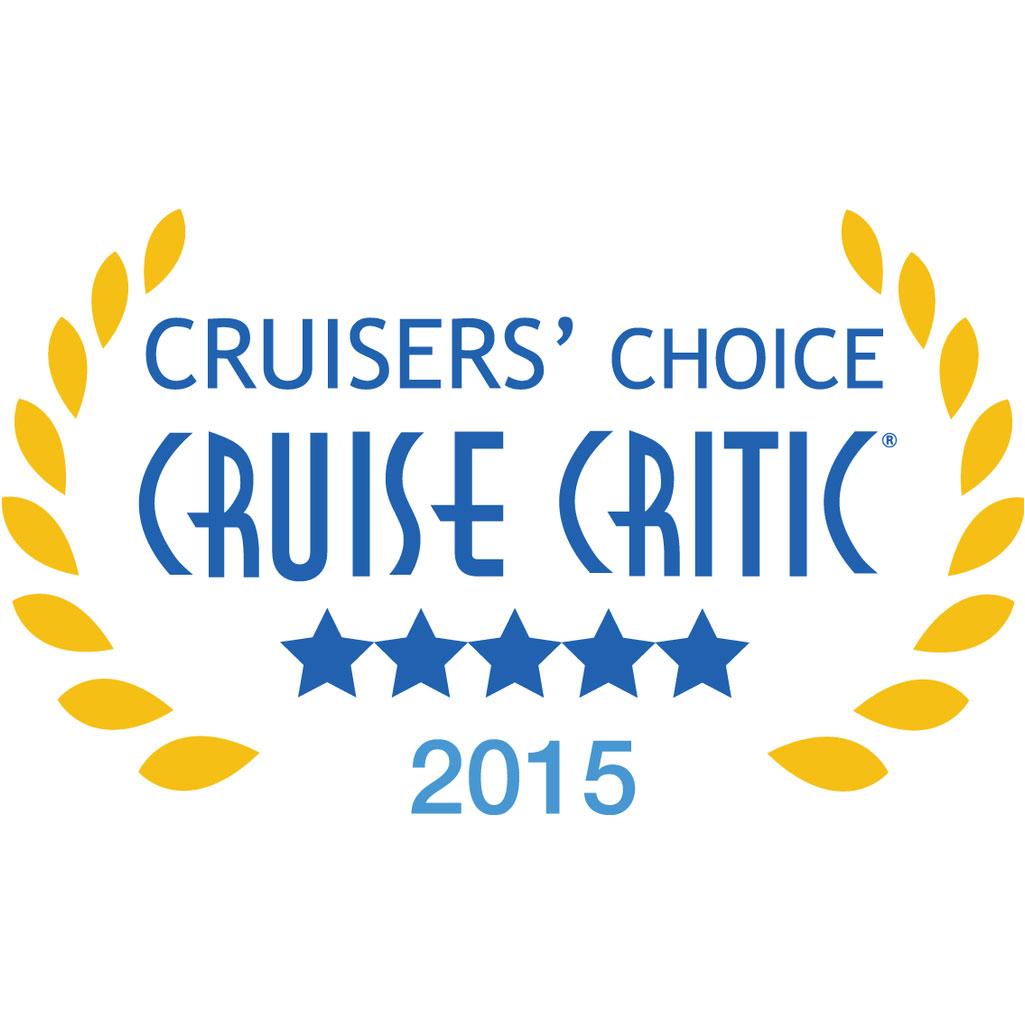 Cruise Critic 2015 Cruisers Choice Badge