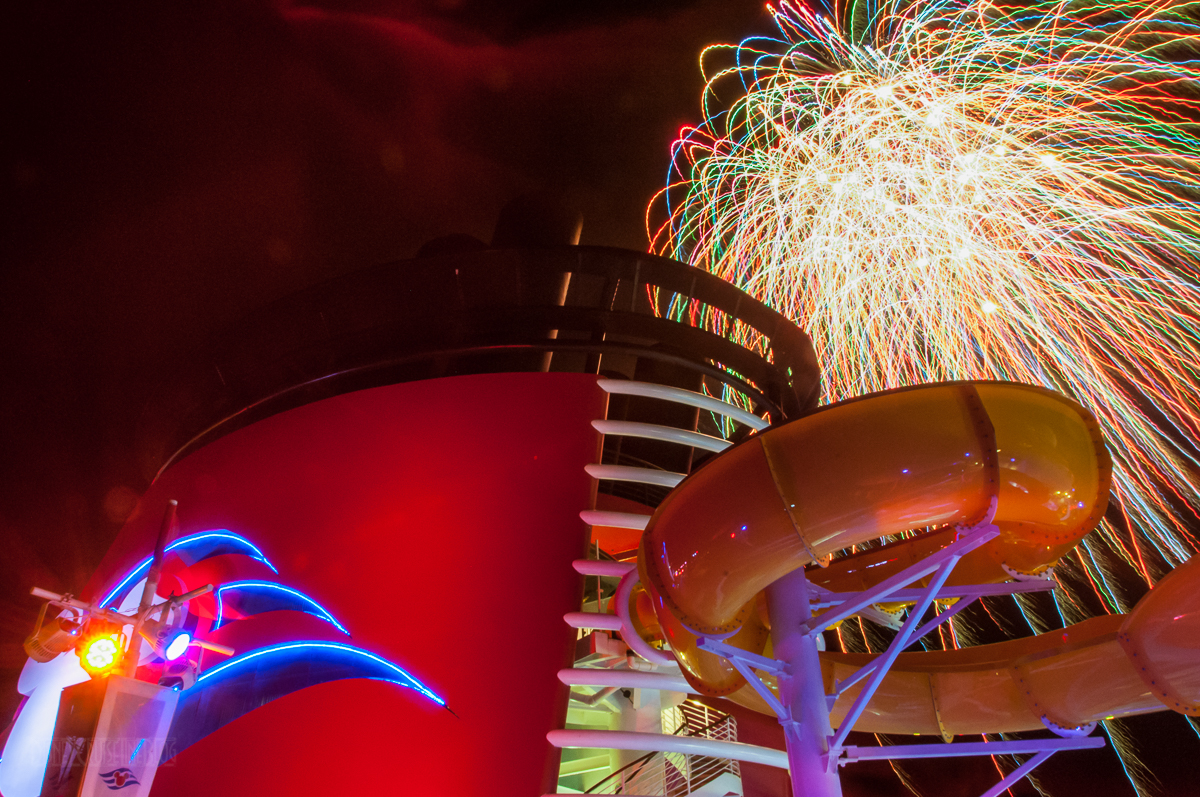 Disney Magic Pirate Night Fireworks