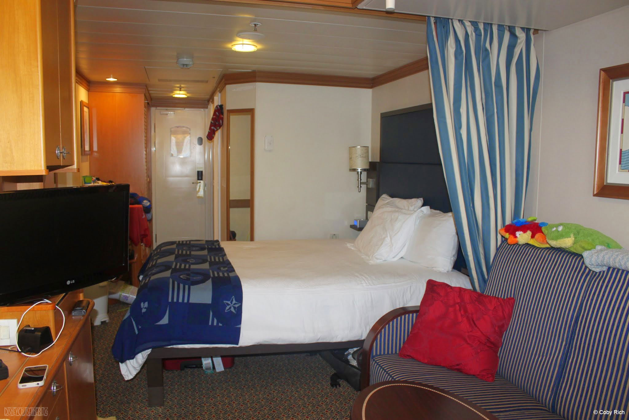 At Look At A Disney Wonder Refurbished Stateroom • The