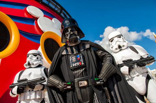 Star Wars Day At Sea Darth Vader Stormtroopers