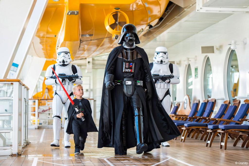 Star Wars Day At Sea Darth Vader Stormtroopers Deck 4