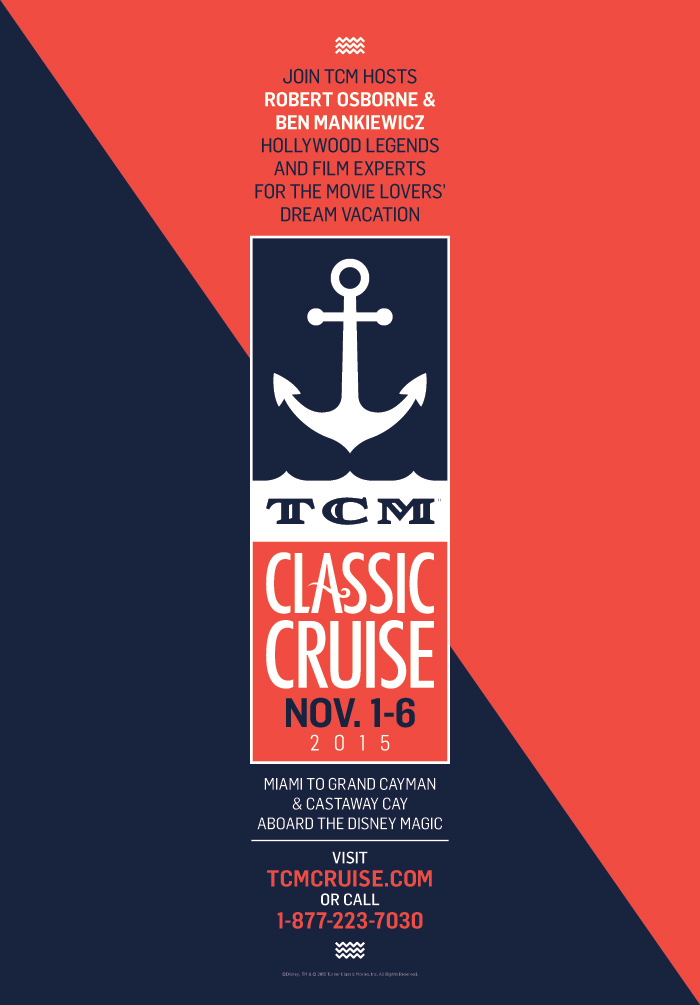 TCM Classic Cruise Poster 2015