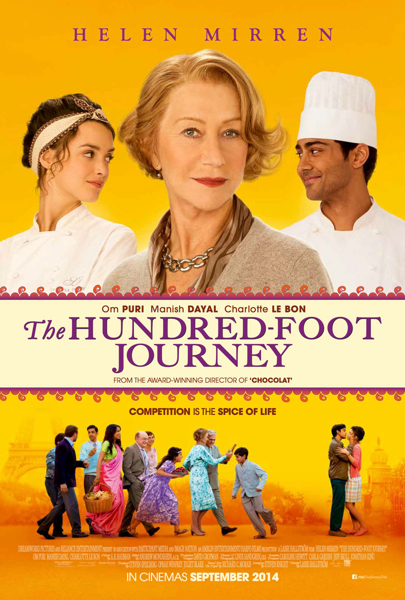 The Hundred Foot Journey Movie Poster