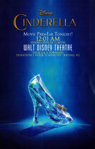Cinderella Movie PremEAR Fantasy March 2015