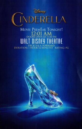 Cinderella Movie PremEAR Fantasy March 2015