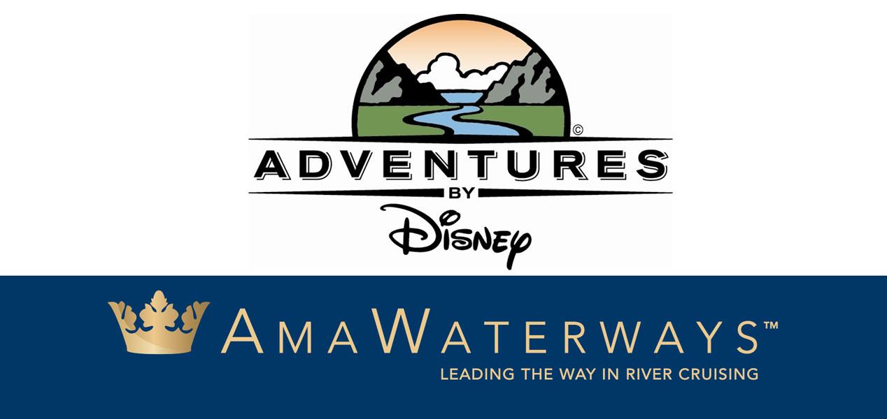 Adventures By Disney AmaWaterways Logos